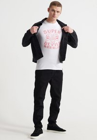 Superdry - MILITARY  - T-Shirt print - optic - 1