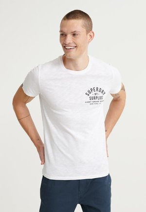 SURPLUS GOODS - T-shirt con stampa - white