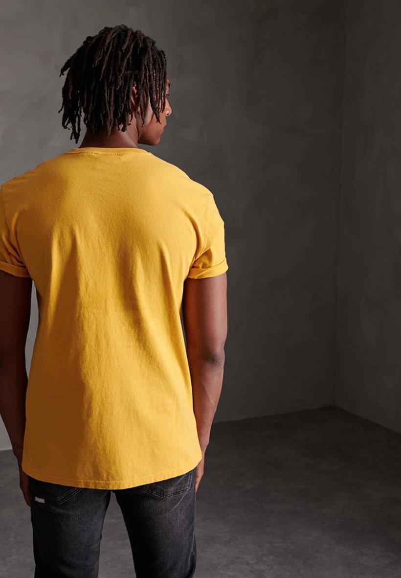 Superdry T-shirts Print - Rich Saffron