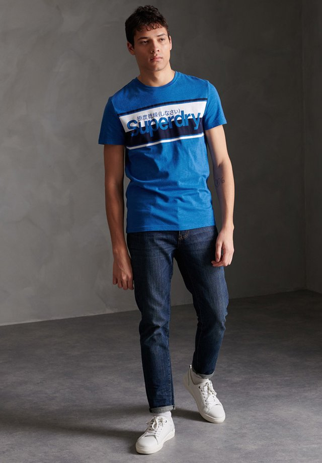 T-shirt print - royal marl