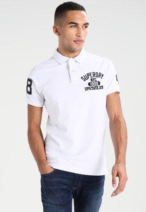 CLASSIC SUPERSTATE - Poloshirt - optic white