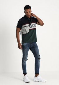 Superdry - CLASSIC - Polo - eclipse navy - 1