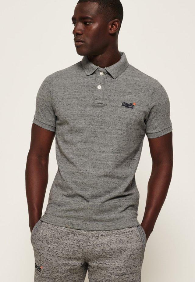 MIT KURZEN ÄRMELN - Poloshirt - grey