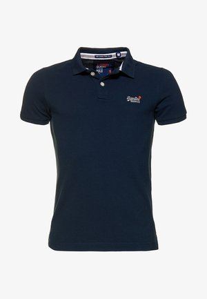 MIT KURZEN ÄRMELN - Polo - dark navy blue