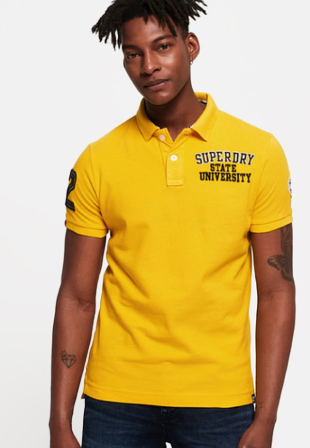 CLASSIC SUPERSTATE  - Poloshirt - yellow