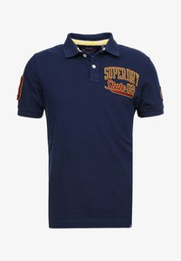 Superdry - CLASSIC SUPERSTATE  - Polo shirt - sport navy - 4