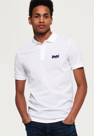 MERCERISED LITE CITY - Poloshirts - white