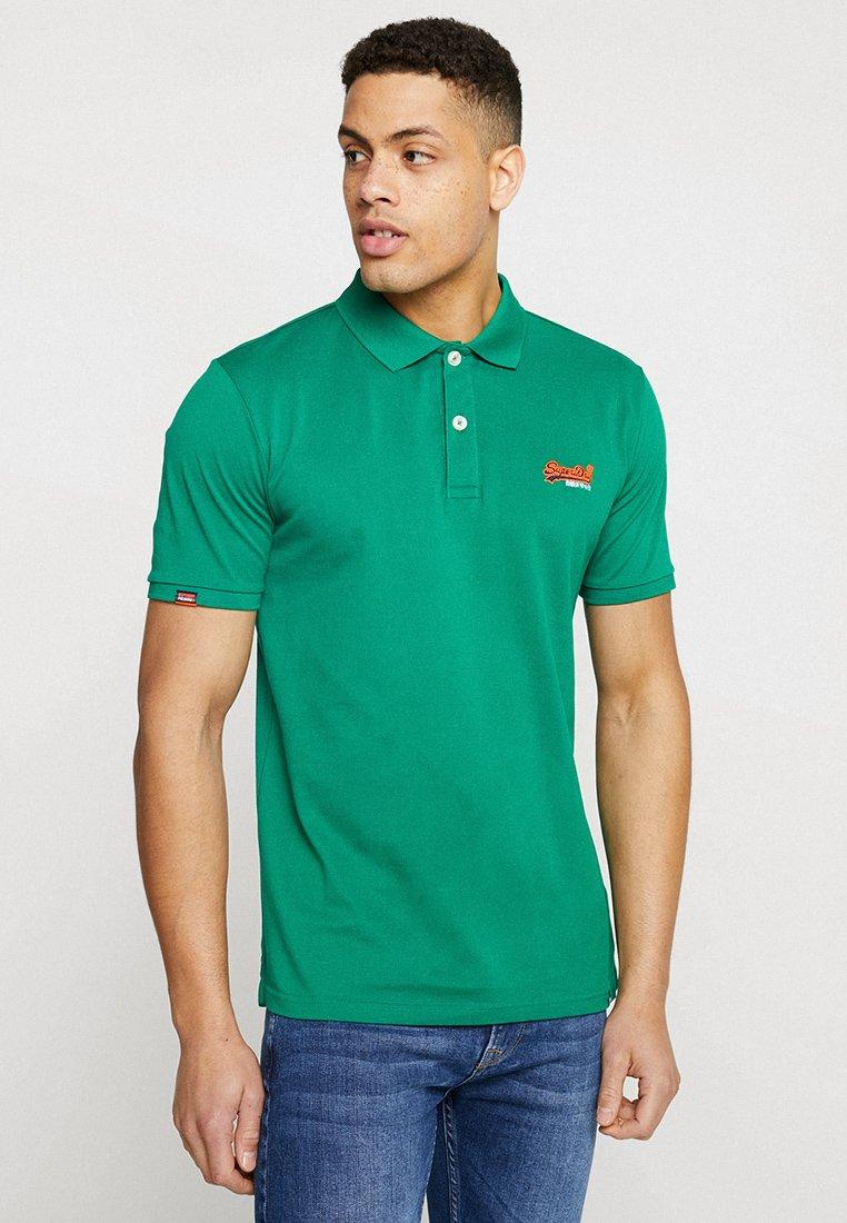 Superdry - MERCERISED LITE CITY - Polo shirt - ivy