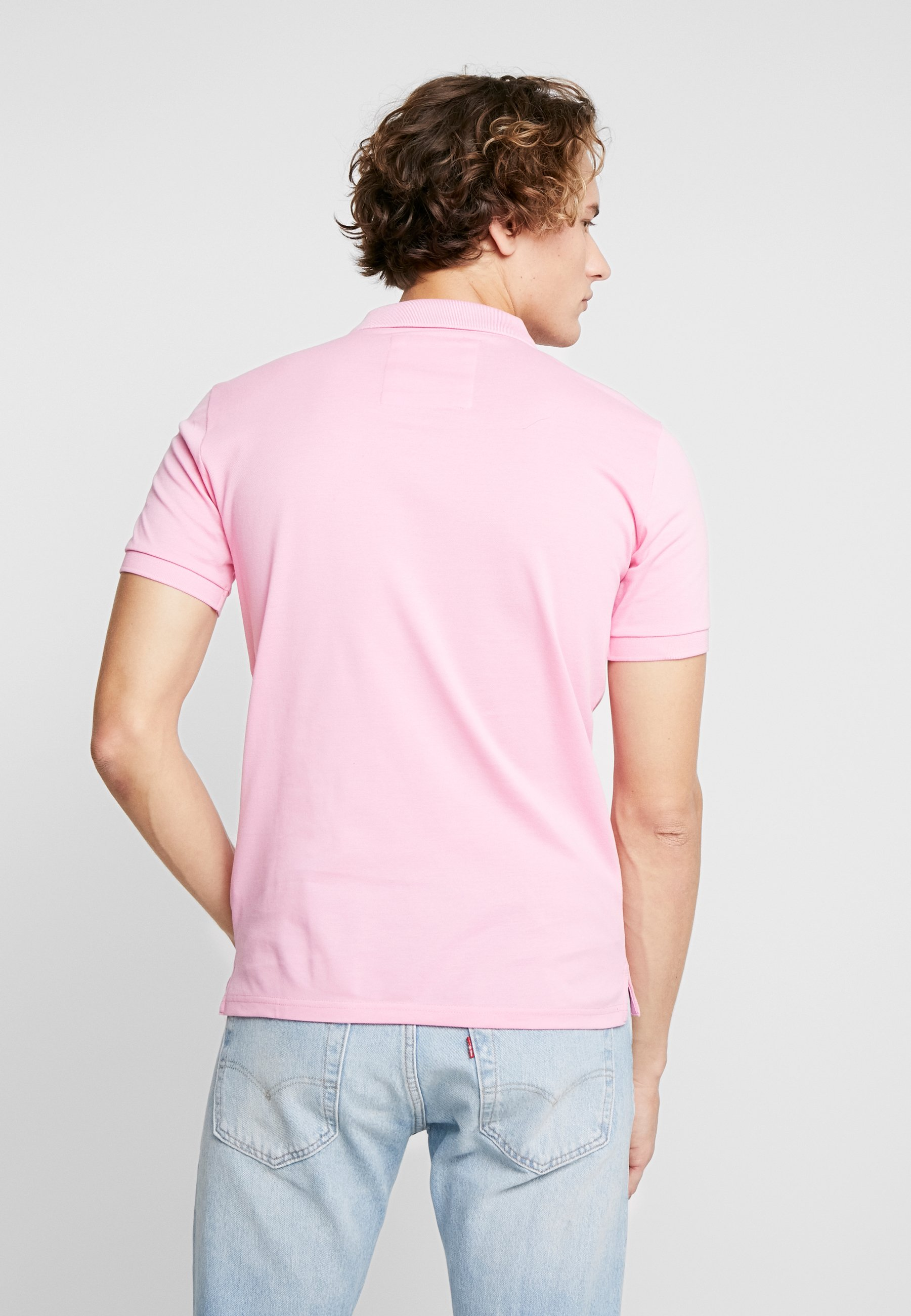 Superdry Prep Pink Classic Classic MicroPolo Superdry n8XOPkN0w