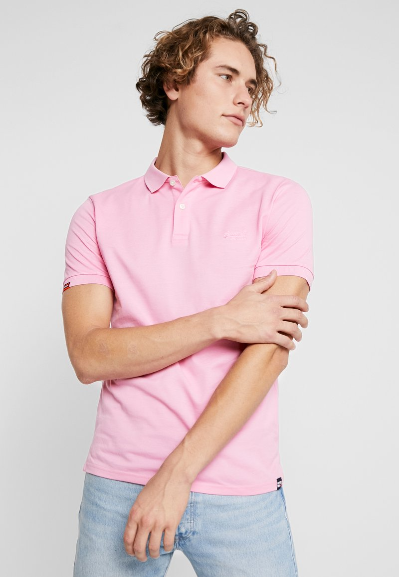 Superdry - CLASSIC MICRO - Polo - prep pink