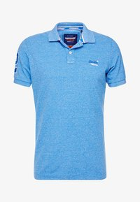 Superdry - CLASSIC - Polo shirt - ocean blue grit - 4