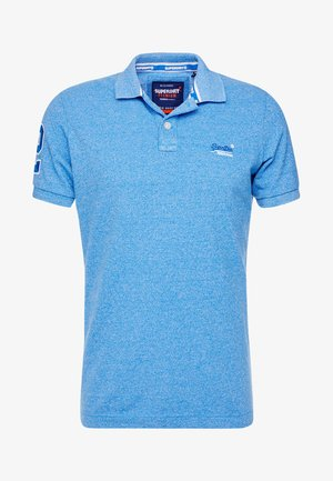 CLASSIC - Polo - ocean blue grit