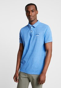 Superdry - CLASSIC - Polo shirt - ocean blue grit - 0