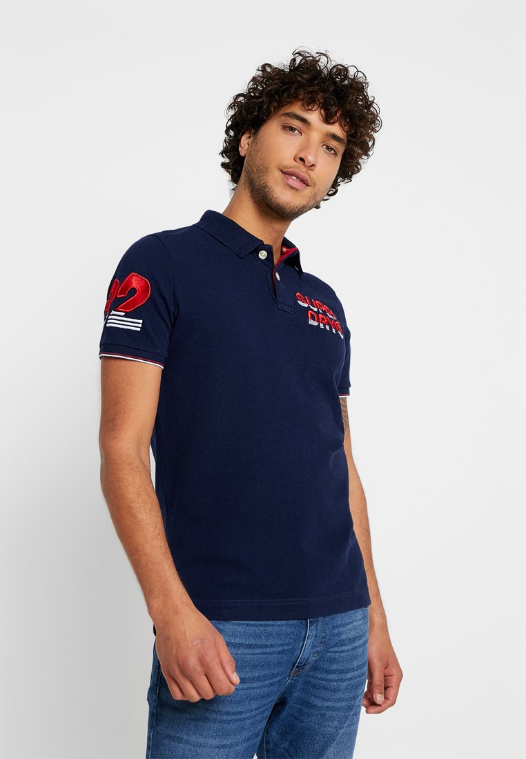 Superdry - SUPERSTATE CHAMPION - Polo shirt - rich navy