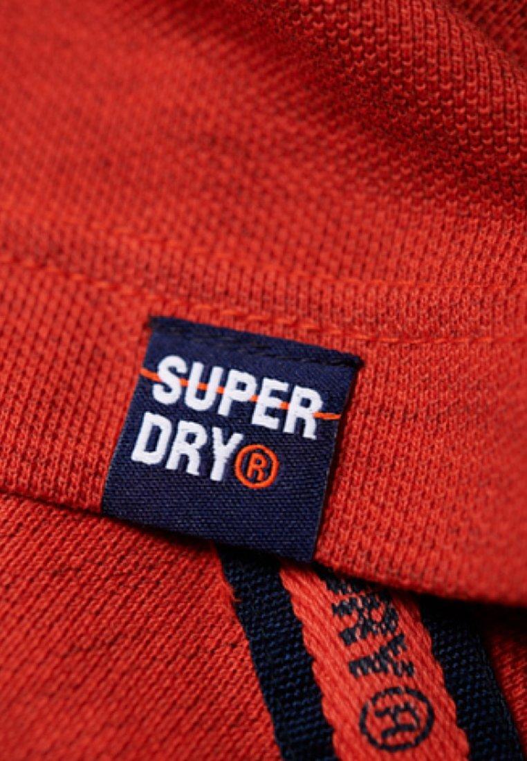 Superdry Piké - Orange Sunset Mottled