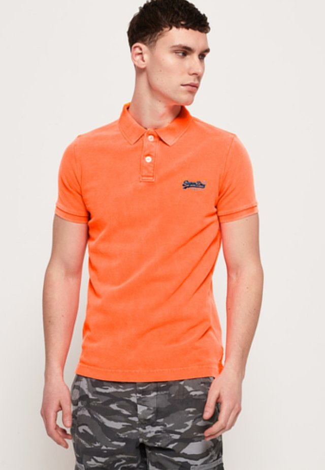 KLASSISCHES HYPER  - Poloshirt - orange
