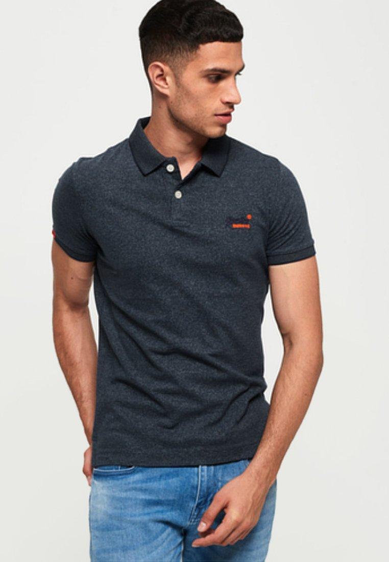 Superdry - ORANGE LABEL - Polo shirt - dark blue
