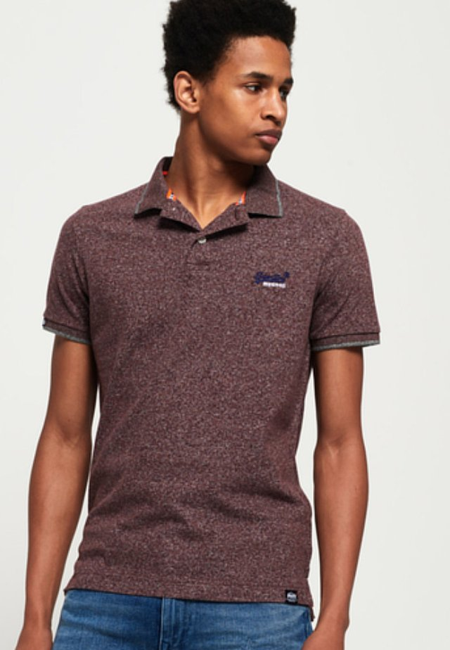 LABEL  - Poloshirt - brown