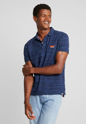 LABEL  - Polo shirt - navy fleck