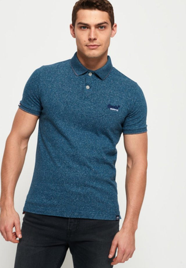 LABEL  - Poloshirt - blue