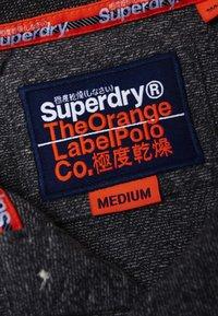 Superdry - LABEL  - Poloshirt - black - 3