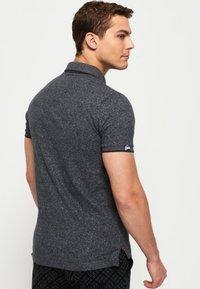 Superdry - LABEL  - Poloshirt - black - 2