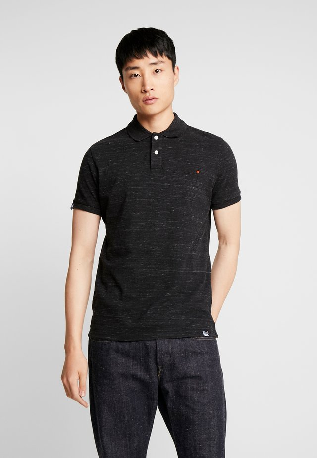 ORANGE LABEL - Poloshirt - vast black space