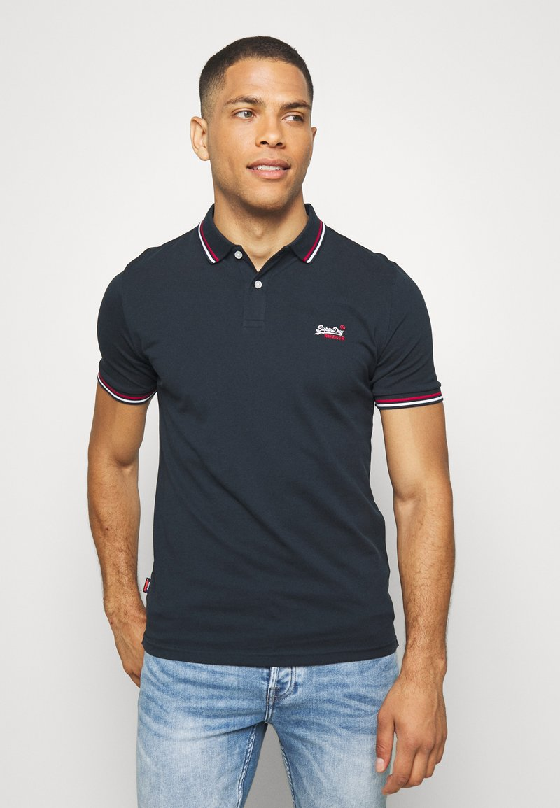 Superdry - Polo - eclipse navy