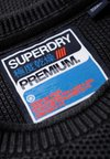 Superdry - Strickpullover - black