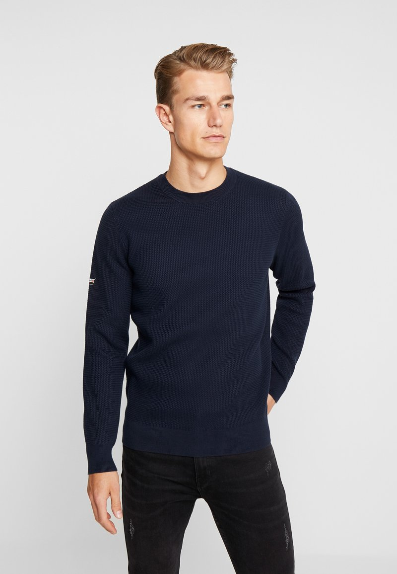 Superdry - ACADEMY CREW - Jumper - deep navy