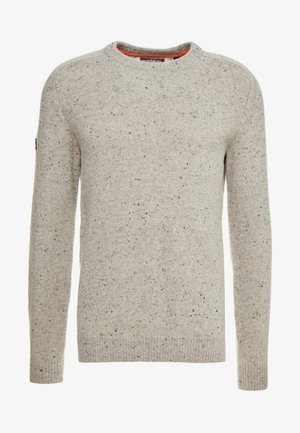 HARLO - Strickpullover - oatmeal