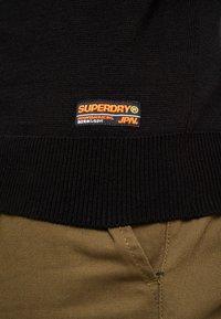 Superdry - DOWNHILL RACER - Pullover - black - 5