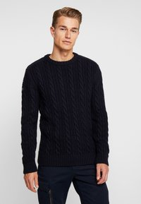 Superdry - JACOB CREW - Maglione - downhill navy - 0