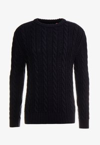 Superdry - JACOB CREW - Maglione - downhill navy - 3