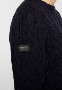 Superdry - JACOB CREW - Maglione - downhill navy - 4