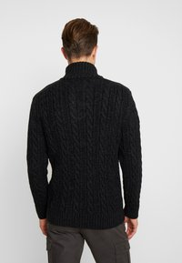 Superdry - JACOB - Pullover - magma black twist - 2