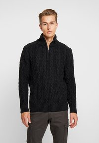 Superdry - JACOB - Pullover - magma black twist - 0