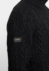 Superdry - JACOB - Pullover - magma black twist - 5