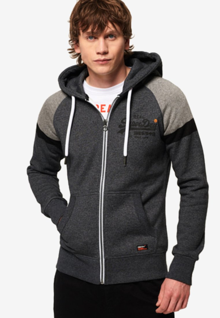 Superdry - Sweatjacke - black