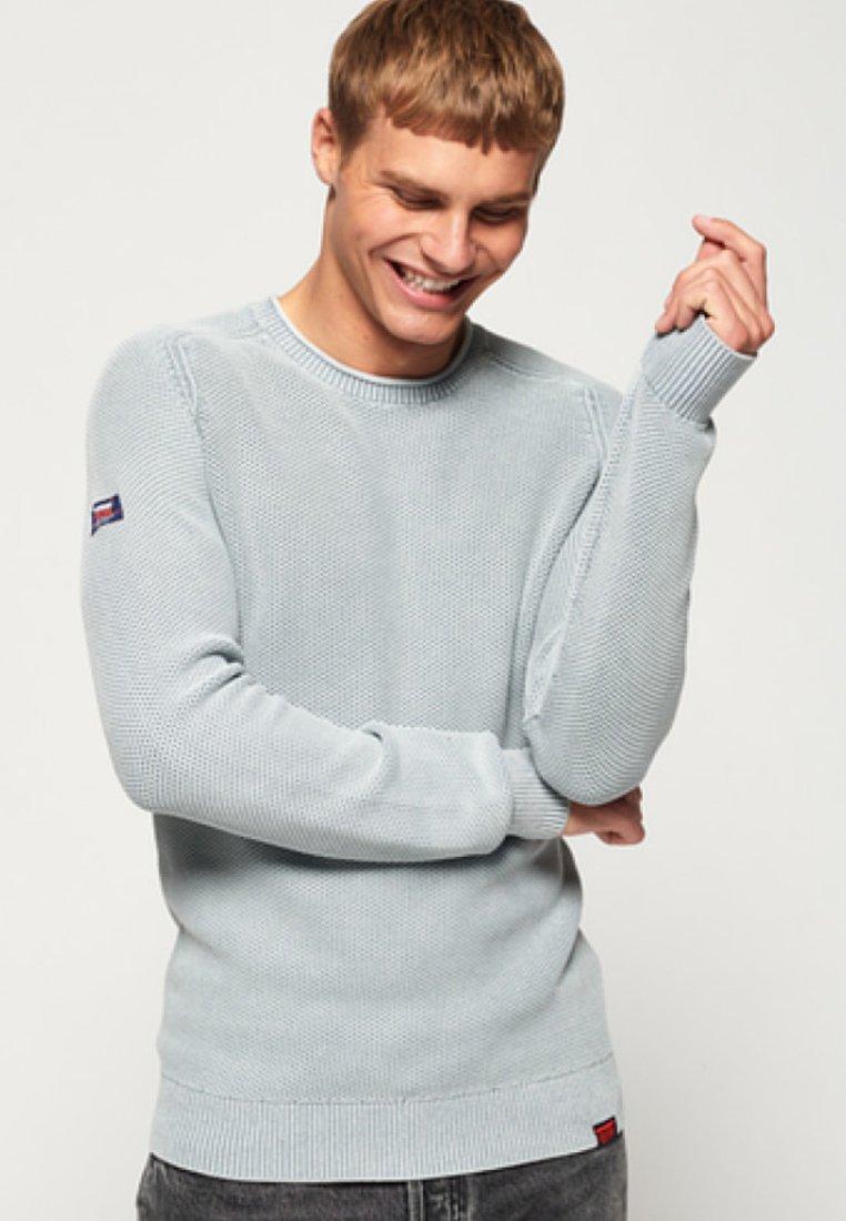 Superdry Sweter - washed khaki