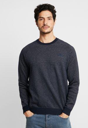 CREW - Sweter - vintage navy
