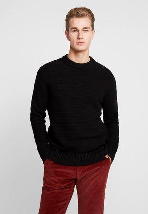 KEYSTONE CREW - Stickad tröja - black
