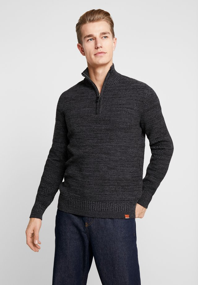 KEYSTONE HENLEY - Pullover - lead grey twist