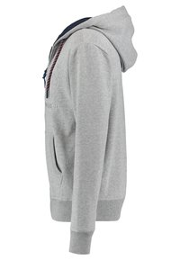 Superdry - DOWNHILL RACER APP ZIPHOO - Sweatjacke - grey - 2