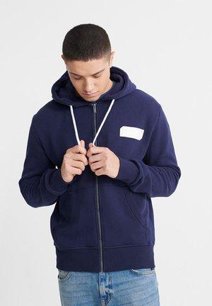 Zip-up hoodie - rich navy