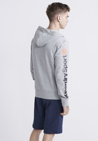 Superdry - Sweatjacke - grey marl - 2