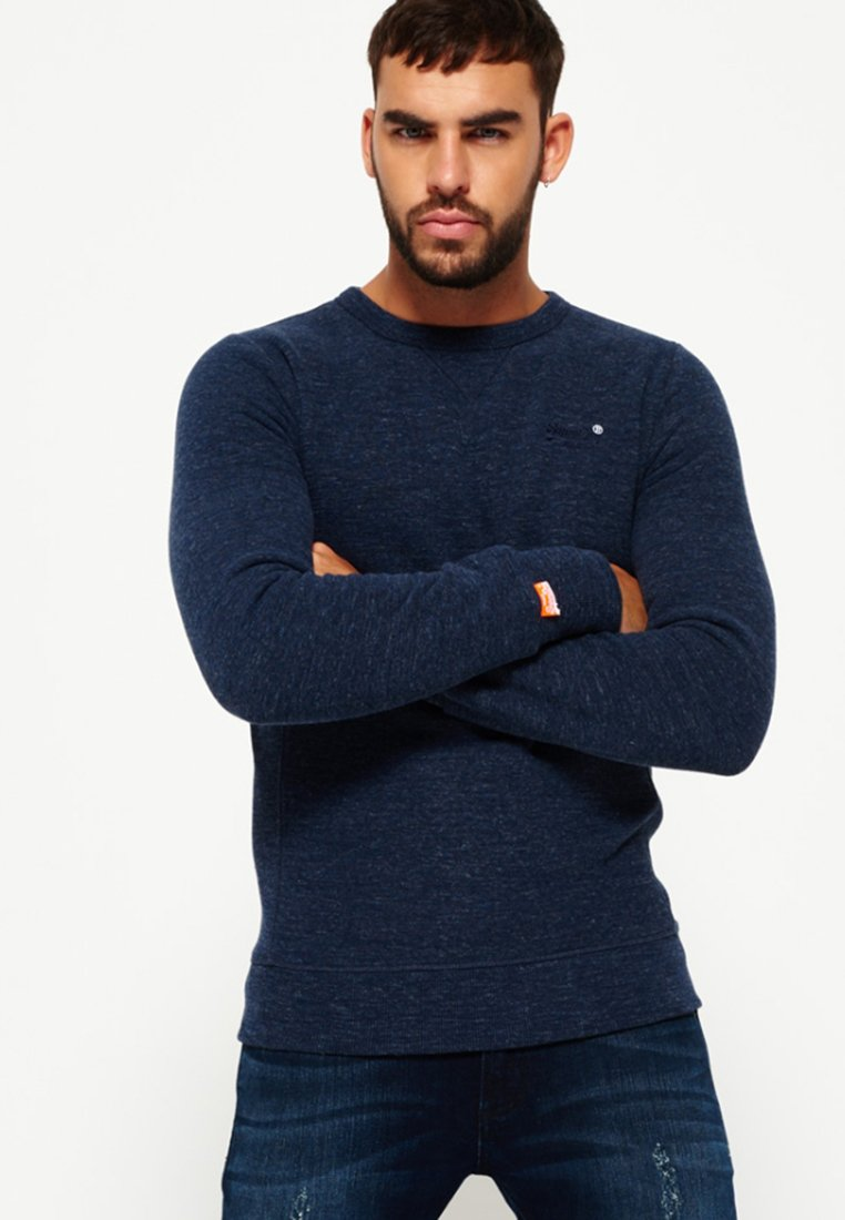 Superdry - ORANGE LABEL CREW  - Sweatshirt - royal blue