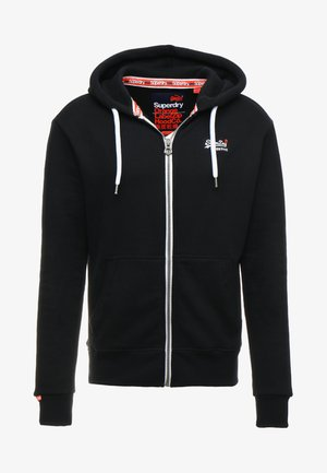 LABEL ZIPHOOD - Zip-up hoodie - eclipse navy