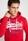 Superdry - PREMIUM GOODS DUO LITE HOOD - Kapuzenpullover - eagle red
