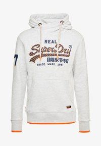 Superdry - VINTAGE LOGO NEON TIP HOOD - Sweat à capuche - ice marl - 5
